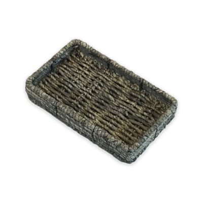 Christina Binded Maize Guest Towel Holder in Gray