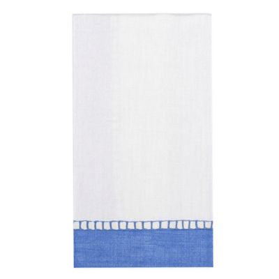 15-Count Paper Guest Towels in Blue