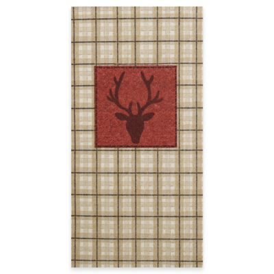 Lodge Plaid Paper Guest Napkins (Set of 16)