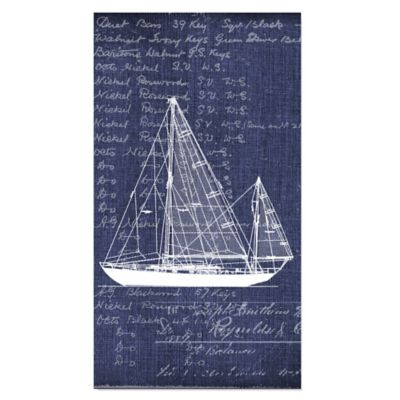 Sailboat Guest Towel