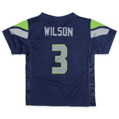 Seattle Seahawks Russell Wilson Jersey in Blue