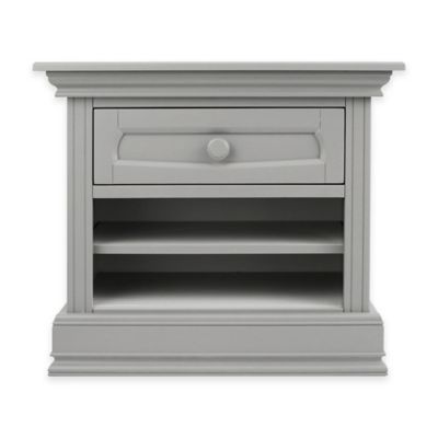 Baby Appleseed® Nightstand in Moon Grey