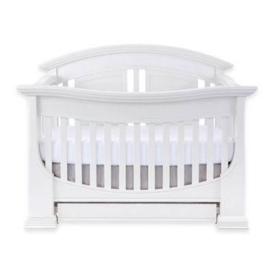 Baby Appleseed® Chelmsford 4-in-1 Convertible Crib in Pure White