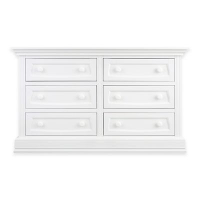 Baby Appleseed® 6-Drawer Double Dresser in Pure White
