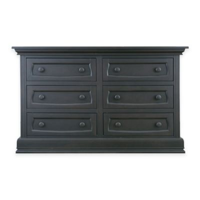 Baby Appleseed® 6-Drawer Double Dresser in Slate