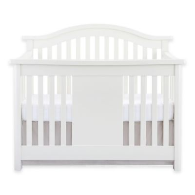 Baby Appleseed® Stratford 4-in-1 Convertible Crib in Pure White