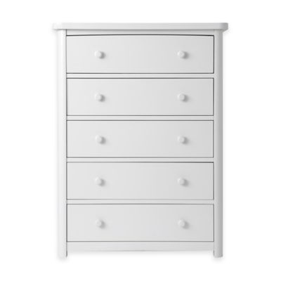 Baby Appleseed® Stratford 5-Drawer Chest in Pure White