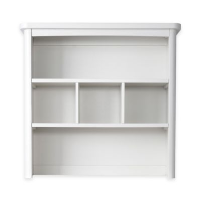 Baby Appleseed® Stratford Hutch and Bookcase in Pure White