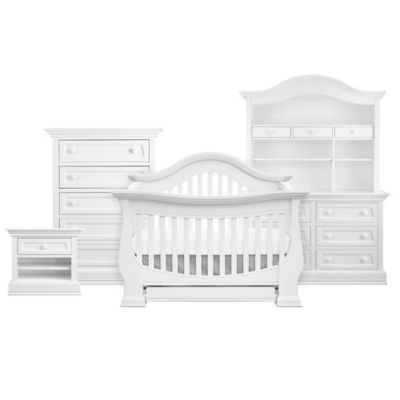 Baby Appleseed® Davenport 4-in-1 Convertible Crib in Pure White