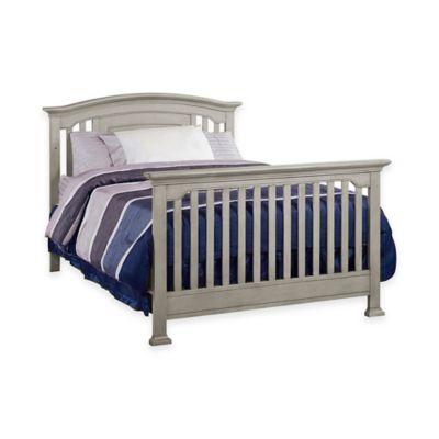 Munire Brunswick Full Size Bed Rails in Ash Grey