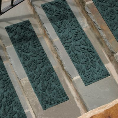 Weather Guard™ Fall Day Stair Treads in Medium Blue (Set of 2)