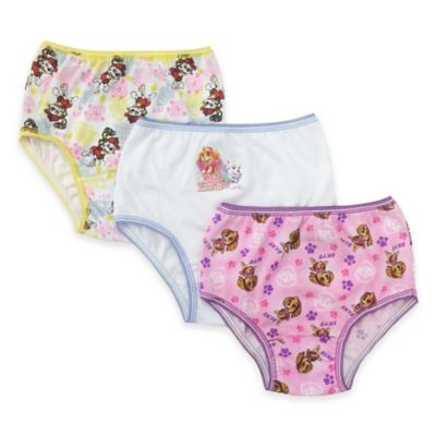 Size 2-3T 3-Pack PAW Patrol Briefs