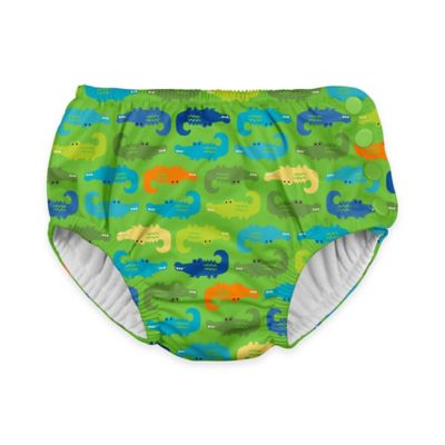 Lime Swim Diaper