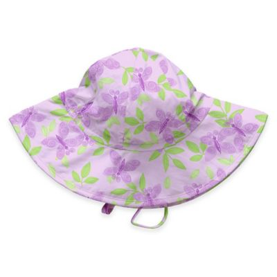 i play.® Size 0-6M Butterfly Brim Sun Hat in Lavender