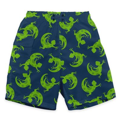 i play.® Size 18M Green Gecko Ultimate Swim Diaper Pocket Trunks in Navy