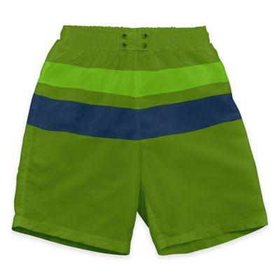 i play.® Size 6M Ultimate Swim Diaper Block Board Short in Olive/Navy