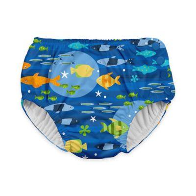 i play.® Size 6M Fish Ultimate Swim Diaper in Royal