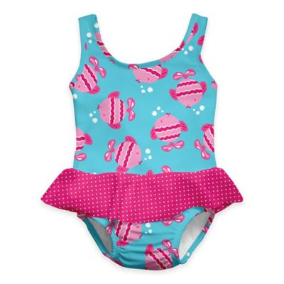 i play.® Size 24M Fish Ultimate Swim Diaper Skirty Tanksuit in Aqua
