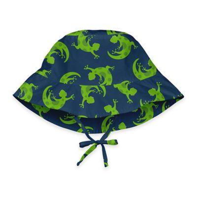 i play.® Size 9-18M Gecko Bucket Sun Hat in Navy
