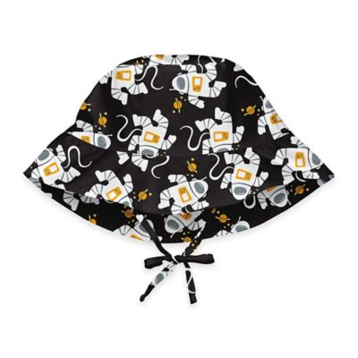 i play.® Size 2-4T Outerspace Bucket Sun Hat in Black
