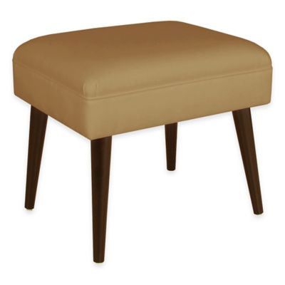 Skyline Furniture Sawyer Ottoman in Twill Khaki