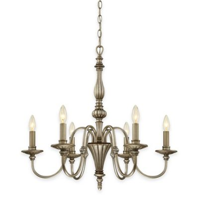 Illumina Direct 6-Light Bramwell Chandelier in Imperial Silver