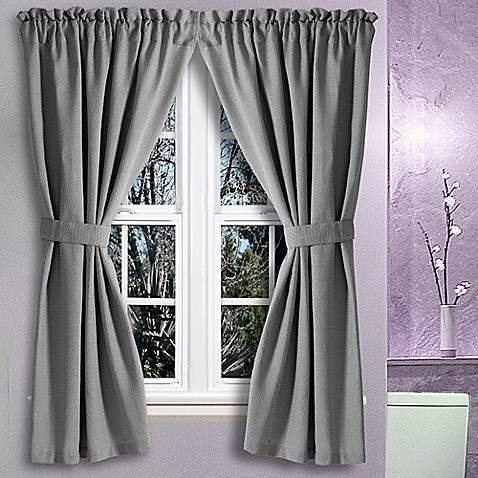 Gray Bathroom Window Curtains Waterford Bathroom Win