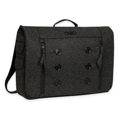 OGIO Midtown Messenger Bag in Dark Grey Felt