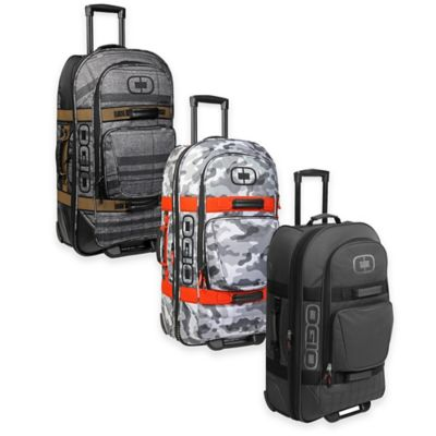 OGIO Terminal Rolling Duffle in Snow Camo/Orange