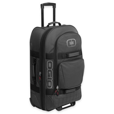 OGIO Terminal Rolling Duffle in Black Pindot