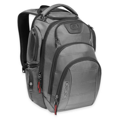 OGIO Gambit Laptop Backpack in Platinum