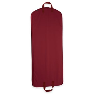 WallyBags® 52-Inch Dress Length Garment Bag in Red