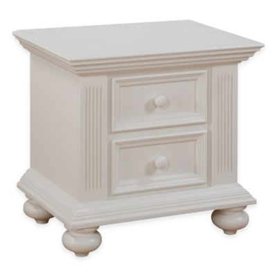 Munire Keyport Nightstand in White
