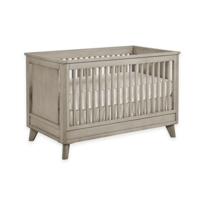 Munire Wyndham Nursery Furniture Collection in Ash Grey > Munire Wyndham 3-in-1 Convertible Crib in Ash Grey