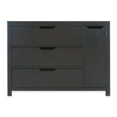 Karla Dubois® OSLO 3-Drawer Chifferobe Dresser in Slate