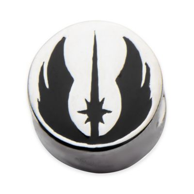Star Wars™ Stainless Steel Jedi Symbol Bead Charm