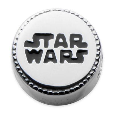 Star Wars™ Stainless Steel Logo Bead Charm