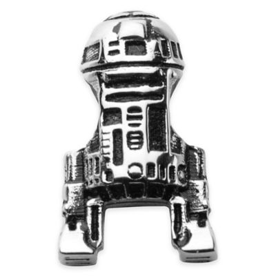 Stainless Steel R2-D2 Bead Charm