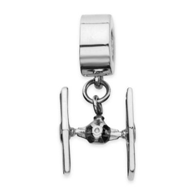 Star Wars™ Stainless Steel TIE Fighter Dangle Charm