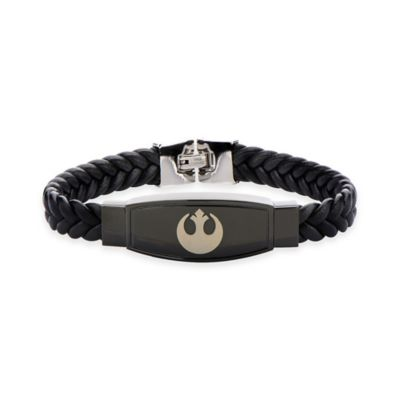 Star Wars™ Rebel Symbol Braided Leather Bracelet