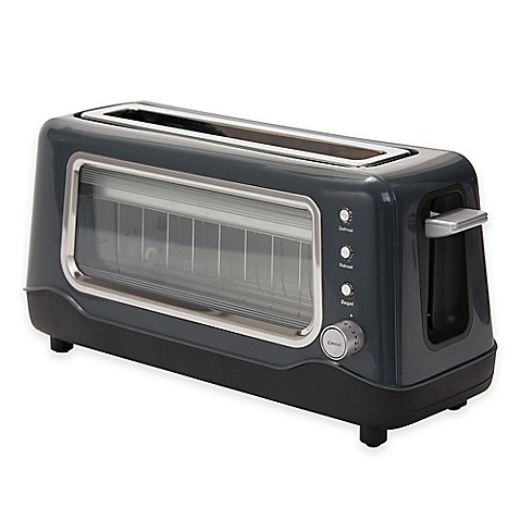 Dash Clear View Toaster In Grey Bed Bath Amp Beyond