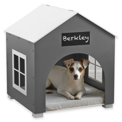 White Grey Pet House