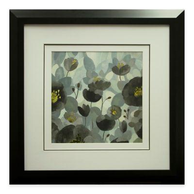 Morning Bloom Greige Framed Wall Art