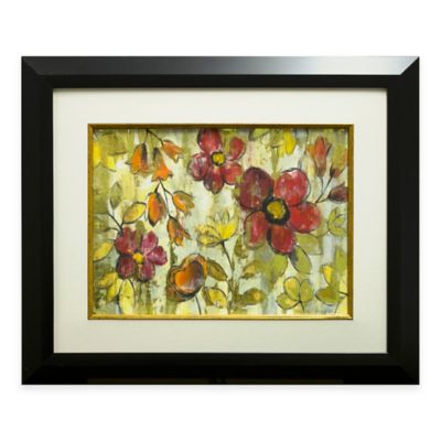 Fire Flower Framed Wall Art