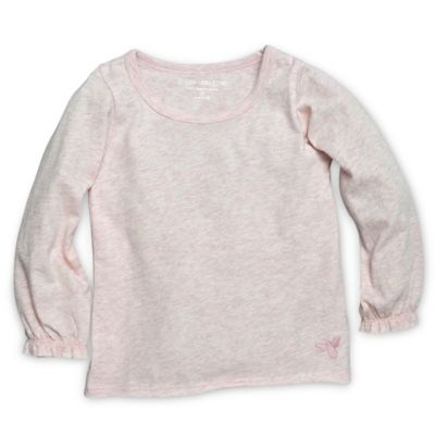 Burt's Bees Baby® Size 2T Organic Cotton Long Sleeve Tee in Purple