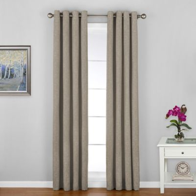 Green Linen Window Panels Treatments