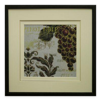 Burgundy I Framed Wall Art