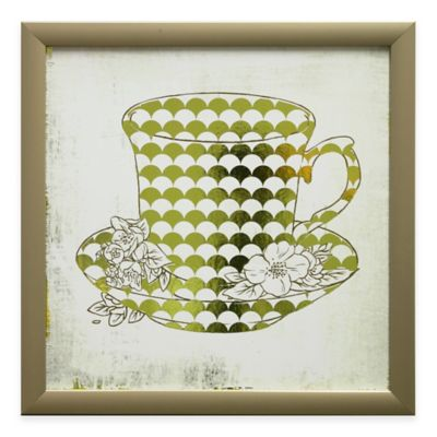 Darjeeling White Tea Framed Wall Art
