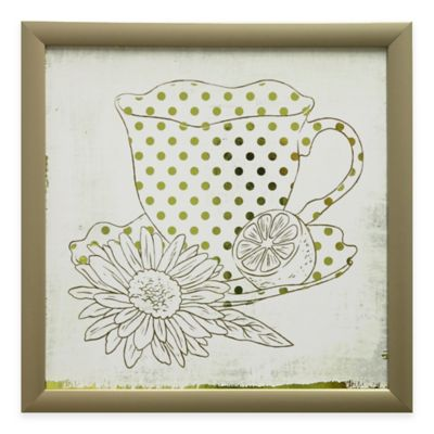 Chamomile Lemon Tea Framed Wall Art