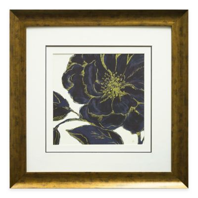 Indigo Garden II Framed Wall Art